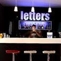 Letters Bar