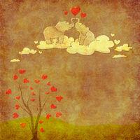 Felicitare Love - 1192