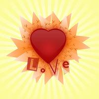 Felicitare Love - 1129