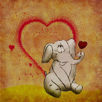 Felicitare Love - 1194
