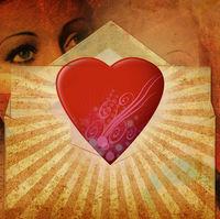 Felicitare Love - 1190