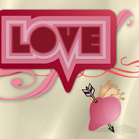Felicitare Sf. Valentin - 1605