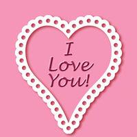 Felicitare Sf. Valentin - 1555