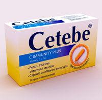 Supliment alimentar Cetebe C Immunity Plus