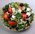 Salata greceasca cu tofu