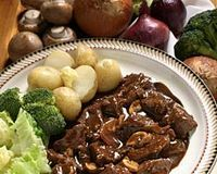 Tocanita de ciuperci portobello