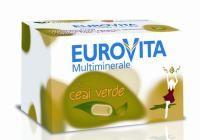 Eurovita Multiminerale cu Ceai Verde - primul complex de vitamine si minerale cu extract de ceai verde din Romania