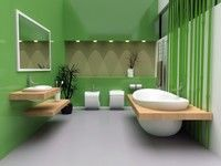 O baie exotica, moderna, clasica sau hippie sic?