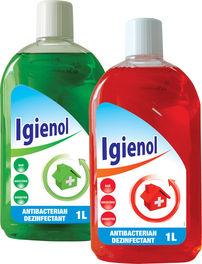 IGIENOL – dezinfectant universal pentru locuinţă, care nu conţine hipoclorit de sodiu