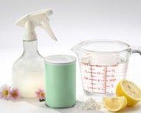 Produse de curăţat: alternative naturale