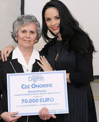 Livia Bârsan a câştigat Marele Premiu Reader's Digest de 70.000 de euro
