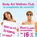 Body Art Wellness Club te pregateste de vacanta!