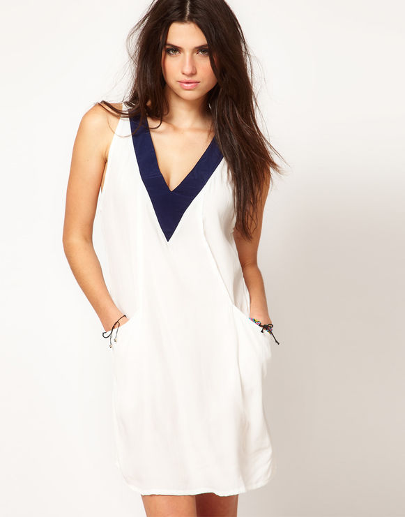 Фото простое платье