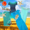 Modă: 20 de ţinute inspirate de albastrul mării. Vezi care ţi se potriveşte!