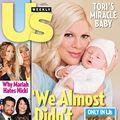 """Actriţa Tori Spelling, naştere cu complicaţii: """"Mai aveam puţin şi muream!"""""""