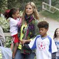 """Heidi Klum: """"Îi plătesc pe copiii mei să mănânce sănătos"""""""