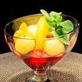 Salată de ananas cu vanilie