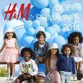 Până pe 19 aprilie, H&M a pregătit 20% reducere la orice achiziţie din departamentul H&M Kids, Colecţia Primavară 2014!