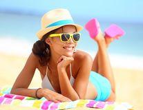 Soarele şi marea te ajută să fii mai sănătoasă dacă nu exagerezi