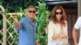 Pregătiri pentru nunta lui George Clooney. Vedetele au ajuns la Veneţia