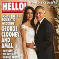 Primele imagini cu mireasa lui George Clooney