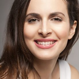 Femeie zâmbet