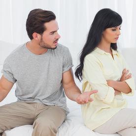 Un cuplu care se cearta