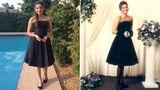 Emoţionant. O tânără poartă rochia de bal a mamei sale 25 de ani mai târziu