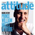 Printul William pe coperta revistei gay Attitude