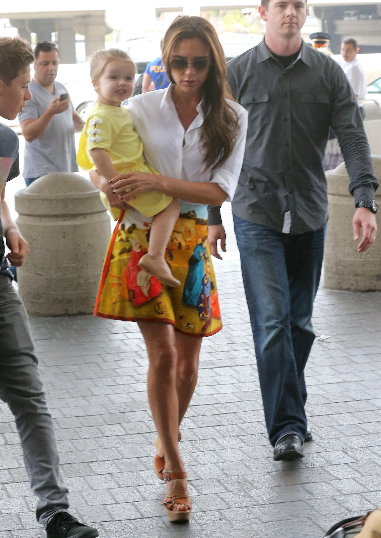 Victoria Beckham si fiica sa, Harper