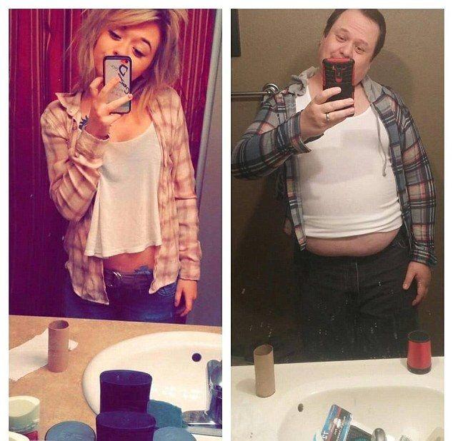 Reacţia hazlie a unui tată după ce fiica lui a postat pe internet selfie-uri sexy