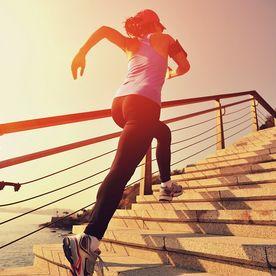 scări sport alergare