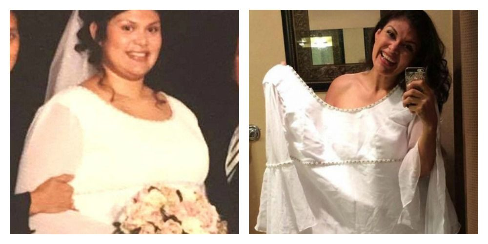 Monica Perez, inainte si dupa ce a slabit 70 de kilograme