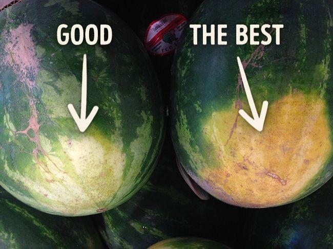 Cum sa alegi pepenele perfect