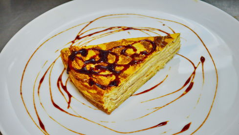Budinca de clatite by Chef Paul Siserman