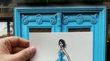 Ce sursă de inspiraţie are un ilustrator de modă? Incredibil cum arată rochiile sale!