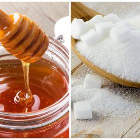 Miere de albine si zahar