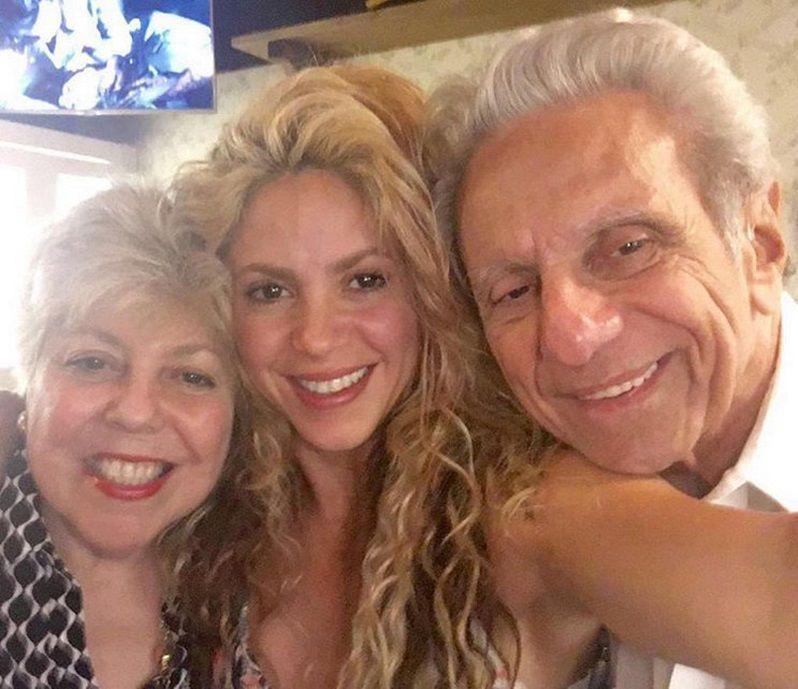 Shakira selfie Instagram