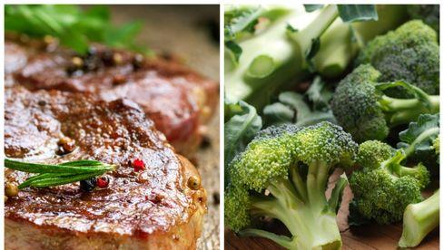 Friptura de vita cu broccoli