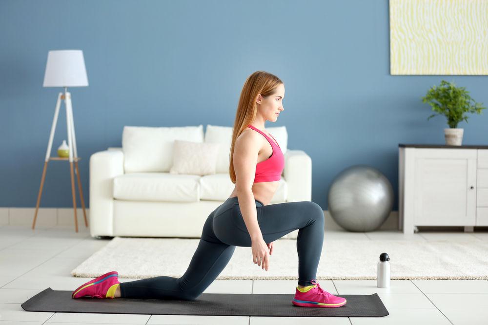 6 exerciţii simple pe care le faci acasă în 5 minute