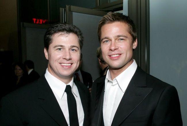 Brad Pitt, cu fratele s?u, Doug