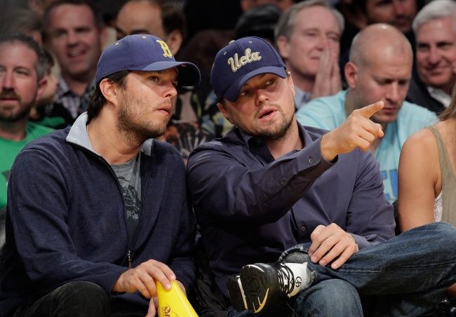 Leonardo DiCaprio, cu fratele s?u, Adam Farrar