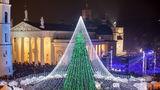 VIDEO. Cel mai frumos brad de Crăciun: Are 50.000 de becuri!