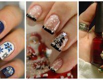30 de manichiuri pentru Crăciun pe care să le încerci în 2016