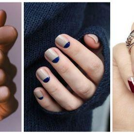 Stilul semilună. 30 de manichiuri pentru unghii perfecte