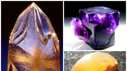 Minuni ale naturii. 35 cele mai frumoase cristale și pietre prețioase