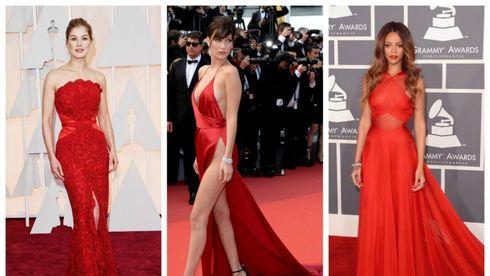 Rochiile roșii purtate de vedete. 10 cele mai sexy ținute
