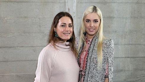 Yasmin Le Bon şi Amber Le Bon