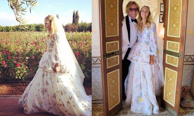 7 vedete care au purtat rochii de mireasă inedite. Au arătat spectaculos!