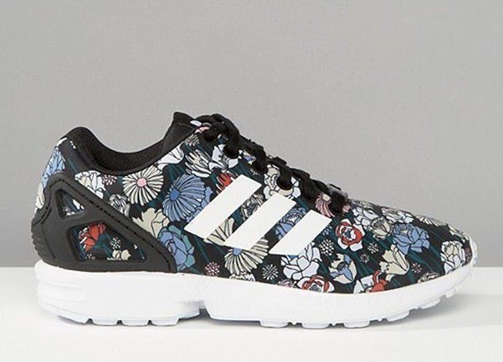 pantofi sport cu imprimeuri florale